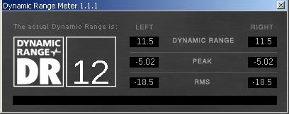 dynamic range meter