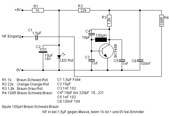 Einfacher Mittelwellen-Modulator