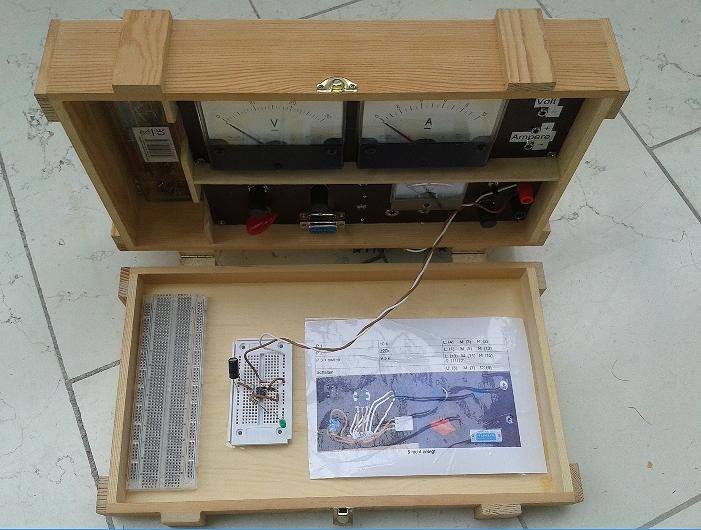 elektroniklabor in der weinkiste. Black Bedroom Furniture Sets. Home Design Ideas